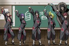 Akatsuki random picture - I dont know what this is anymore Naruto Uzumaki Shippuden, Boruto, Sasunaru, Itachi Uchiha, Kakashi, Anime Naruto, Naruto Fan Art, Anime Akatsuki, Naruto Funny