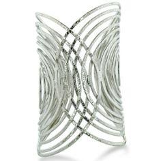 Trendy Wire Wrapped Statement Cuff Bracelet, Fits 7 To 8 Inch Wrist SuperJeweler,http://www.amazon.com/dp/B008NCZFOI/ref=cm_sw_r_pi_dp_V8Misb05Z3NYRZTD