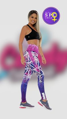 FRVA194: Características:Calzas, pretina alta, estampada. Chile, Spandex, Pants, Fashion, Alone Girl, Over Knee Socks, Products, Trouser Pants, Moda