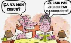 ça va mon #coeur ? je sais pas je suis pas #cardiologue ! #mdr #lol #blague #blagues #drole #drôle #humour #humours #rire