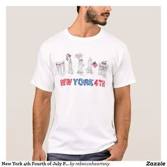 New York 4th Fourth of July Patriotic NYC Tee