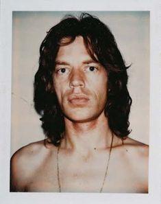 Mick Jagger. (Andy Warhol´s Polaroid)