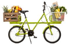 The Donky Bike is an ingenious city bicycle that can carry easily carry bulky items on front and rear racks