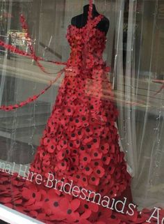 Bridal shop window display store fronts ideas for 2019 Unique Bridal Shower Gifts, Bridal Shower Rustic, Indian Bridal Outfits, Indian Bridal Wear, Knitted Poppies, Shop Window Displays, Store Displays, Marchesa Bridal, Wedding Window