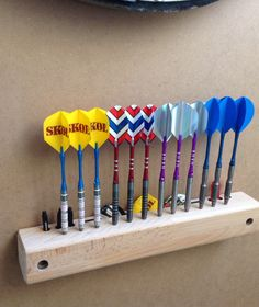 Darts display by lobster With rear storage