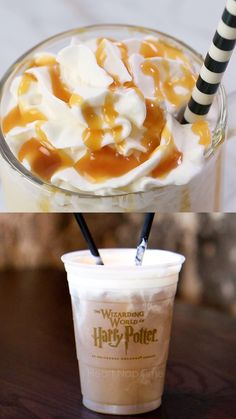 Homemade Butterbeer Recipe - A Creamy Butterscotch Flavored Float Inspired By Harry Potter! #harrypotter #harrypotterfan #harrypotterparty #beverages #drinks #drinkrecipes #butterscotch #summer #summerrecipes #icecream #refreshing #easyrecipe #recipes #videos #recipevideos #iheartnaptime