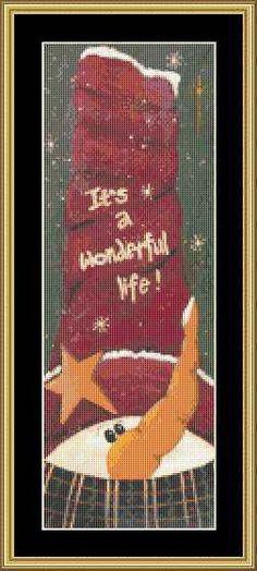 A Wonderful Life [JM-11] : Mystic Stitch Inc, The fine art of counted cross stitch patterns