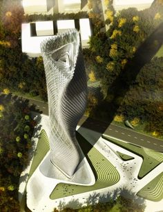 Taiwanese Wind Tower by Decode Urbanism Office >> Elegant design of the Taiwanese Tower, designed by Decode Urbanism Office is derived from natural parameters of the wind combined with the characteristics of the base. Designed as landmark architecture, the tower stands out due to its uniqueness and progressive approach. ...
