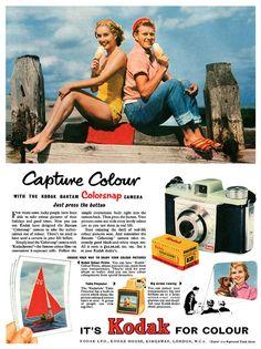 Vintage Kodak advertisement