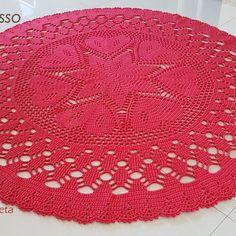 Knitting Patterns For Afghans Inspiration 47 Super Ideas Crochet Leaf Patterns, Crochet Doily Rug, Crochet Carpet, Crochet Dollies, Crochet Leaves, Crochet Circles, Crochet Diagram, Doily Patterns, Crochet Designs