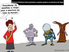 As fantasias de Dilma