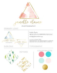 Autumn Lane Paperie - Business Branding - Brand Identity Idea - Brand Board…