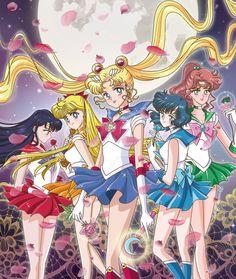 Sailor Moon Team by riccardobacci.deviantart.com on @DeviantArt