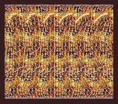 Color Stereo Hidden Image Stereogram Gallery
