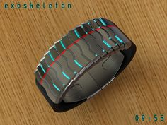 A very cool watch design, Peter Fletcher has done it again with his latest concept: Exoskeleton watch.