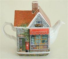 British post office teapot