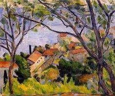Resultado de imagen de Fotos de Pinturas de Cézanne