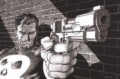 Michael Mike Zeck Signed The Punisher Marvel Comics Art Print   eBay