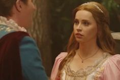 """'SNL': Watch Felicity Jones as a Princess With a 'Terrible' Curse (Video) - """"SNL"""" produces a parody fairy tale where the princess harbors a terrible secret -- she was cursed by a witch and gains 15 pounds at night."""