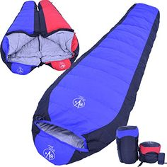 Outdoor Vitals 15 Degree Down Mummy Sleeping Bag 3 Season Backpacking Lightweight Hiking Camping  1 Year Limited Warranty -- Be sure to check out this awesome product.