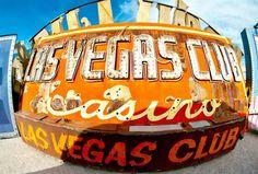 The Neon Museum Boneyard Park in downtown Las Vegas.