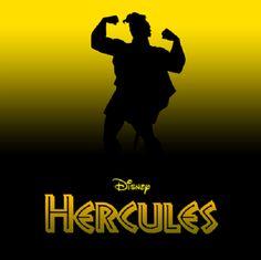 Disney Silhouette Posters: Hercules
