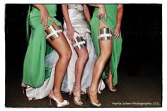 this is a must for bridesmaids, and maybe even the bride :)