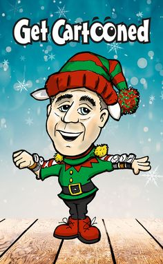 Get into the seasonal festivities with a cartoon caricature of yourself or a family member. Order yours for this Christmas! They make great greeting cards or presents. East Street, A Cartoon, Caricature, Creative Design, Stationery, Greeting Cards, Presents, Branding, Seasons