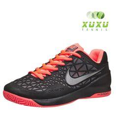 Nike Zoom Cage 2 Black Lava  http://tennisxuxu.vn/san-pham/nike-zoom-cage-2-black-lava/ #niketennis #nikeshoes #nike #zoom #cage2 #nike #shoes #delpotro #giay #tennis #nike