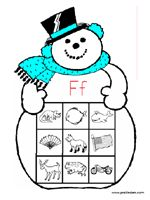 Snowman Letter Sounds Game - Pinned by @PediaStaff – Please visit http://ht.ly/63sNt for all (hundreds of) our pediatric therapy pins