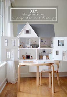 "Un ""home tour"" especial: decorar una casa de muñecas"