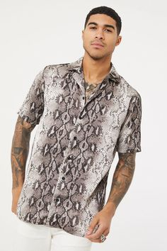 Mstyle Mens Loose Fit Summer Round Neck Black Hole Plus Size 3D Print Blouse Shirt Tops