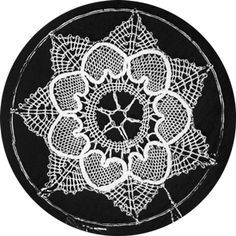 Lace Design - Instructions on how to recreate without a pattern.
