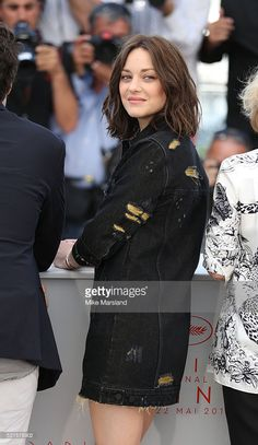 Marion Cotillard attends the 'From The Land Of The Moon (Mal De Pierres)' photocall during the 69th annual Cannes Film Festival at the Palais des Festivals on May 15, 2016 in Cannes, France.