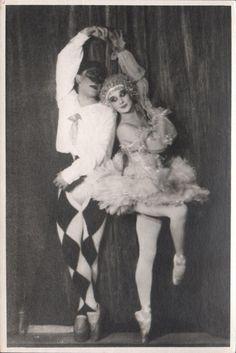 "Anna Pavlova Russian Prima Ballerina in ""Harlequinade"" Orig Photo 1950'S   eBay"