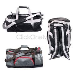 MX - 50L/90L Gym Sport Duffel Bag Travel Camping Heavy Duty Barrel Bag Backpack