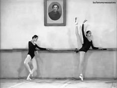 GIF Teenage Svetlana Zakharova in 1996 at Vaganova Academy, St Petersburg, Russia  SERIOUSLY CLICK AND WATCH!
