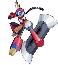 Chaos Tomahawk Soul from Mega Man Battle Network 5