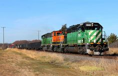 https://flic.kr/p/uFns4z   BNSF 1940 - Randall   On a cold November afternoon, the Dilworth-Northtown rolls out of Randall and more or less will have a straight shot to the yard at Northtown with a trio of EMD's leading the way.  BNSF 1940 BNSF 3407 BNSF 1456