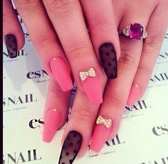 That black nail though
