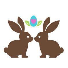 Silhouette Design Store: love bunnies