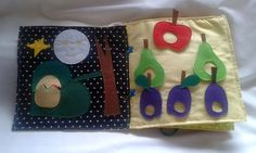 Quiet book The very hungry caterpillar the full story, handmade, busy book, felt book, silent book