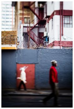 Urban Colours by Danie Bester | Fine Art, Impressionist, Street Photography, Tilt and shift lens. Johannesburg