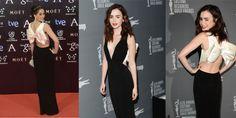 "The Spanish actress Celia Freijeiro wore a PAULE KA ""Black Carpet"" SS 2013 jersey long dre...http://www.fashionandrunway.com/celia-freijeiro-paule-ka-goya-awards/"
