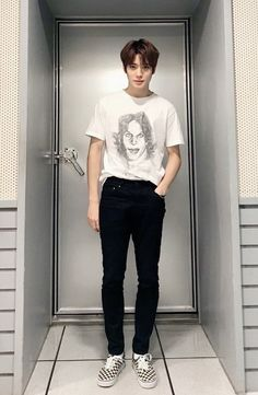 """Pairing: Jung Jaehyun + F Reader Genre: SMUT Warnings: Practice room smut, Oral, Teasing."""" Jaehyun cheered from in front of you. You'd mentioned briefly that you wanted to. Jaehyun Nct, Nct 127, K Pop, Wattpad, Jung Yoon, Valentines For Boys, Jung Jaehyun, Ulzzang Boy, Asian Boys"""