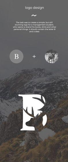 Logo Design B-Letter Saved onto Logo design Collection in Branding Category Typography Logo, Logo Branding, Typography Design, Lettering, Great Logo Design, Web Design, Design Graphique, Art Graphique, Letter Logo