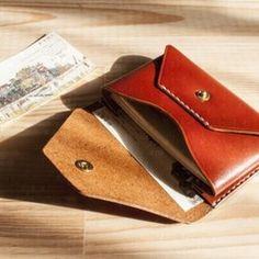 Envelope Card Case / BRN