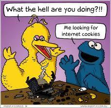 Internet cookies, yum!