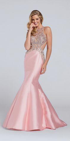 Ellie Wilde Pink Open Back Dress