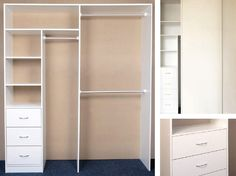Brodco Built-in Wardrobes - Shelving Units Drawers